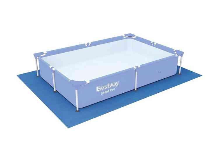 Piscina power steel frame ovale 300x200x84 cm piscine materassini e accessori bestway - Tappetino per piscina ...