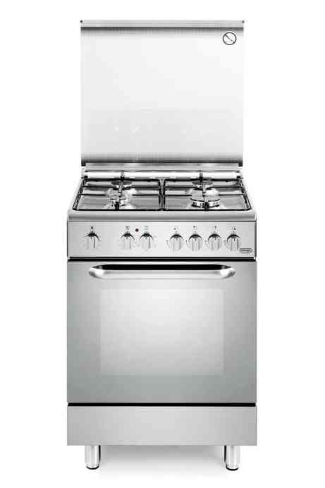 Cucina 4 fuochi forno ventil elett 60x60 inox falegnameria de 39 longhi 3000003780692 - Cucina elettrica de longhi ...