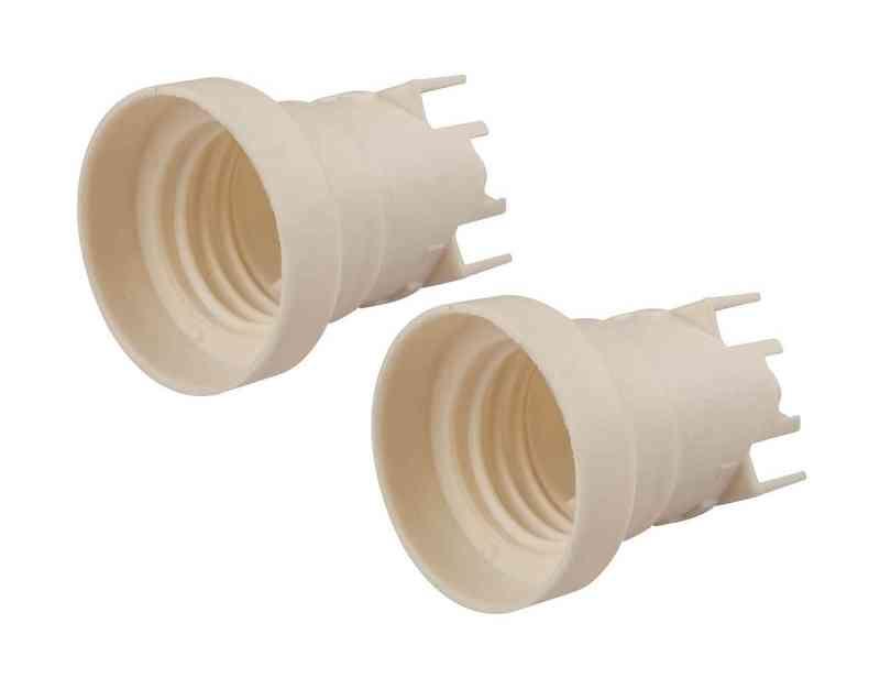 Plafoniere Per Gazebo : 2 portalampada e27 per plafoniere enec imq ce lampadine e