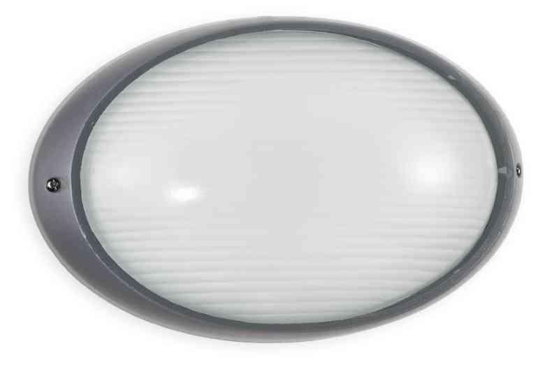 Plafoniere Per Esterno Ip54 : Plafoniera per esterni silver ip54 e27 max 100w illuminazione
