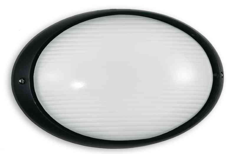 Plafoniere Per Auto : Plafoniera per esterni nero ip54 e27 max 100w illuminazione