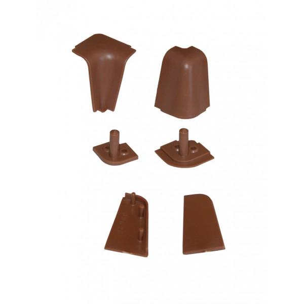Confezione kit accessori per alzatina 505 marrone chiaro ...