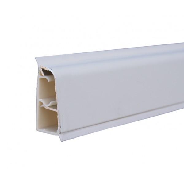 Alzatina in alluminio rivestito top cucina 4 mt bianco ...